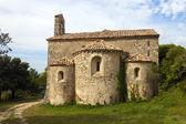 Saints Cosmas and Damian chapel in Gigondas — Stock Photo