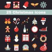 Kerstmis pictogram — Stockvector
