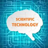 Scientific background — Stock Vector