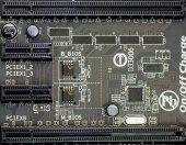 Chipset background, macro — Stock Photo