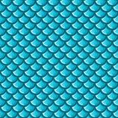 シームレスな青い川の魚の鱗 — ストックベクタ