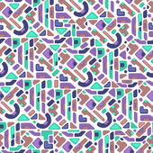 Ethnic seamless pattern. Vector illustration — Stock Vector