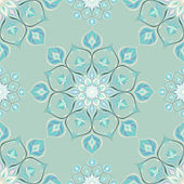 Colored mandala pattern with beautiful ornament — Stock Vector