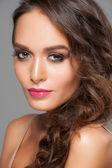 Woman with stylish makeup — Stock Photo