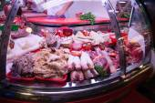 Meat market — Stock Photo