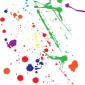 Color blobs — Stock Vector