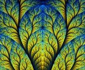 Computer gegenereerde fractal illustraties — Stockfoto