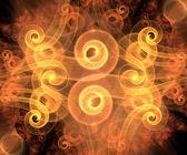 Ilustraciones de fractales generadas por computadora — Foto de Stock