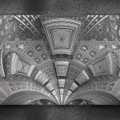 Fond de luxe avec motif en relief sur cuir — Photo