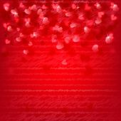 Background with red hearts — Vector de stock