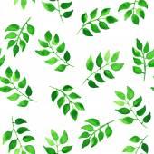 緑の葉のパターン — ストックベクタ