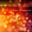 Autumn Lights background — Stock Vector #55225713