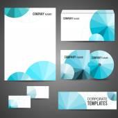 Corporate identity templates — Stock Vector