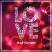 Love background — Stock Vector