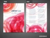 Flyer шаблонов — Cтоковый вектор