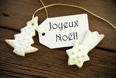 French Christmas Greetings — Stock Photo