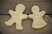 Ginger Bread Couple — Stock Photo