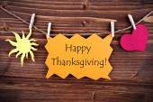 Happy Thanksgiving Greetings — Foto Stock