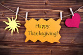 Happy Thanksgiving Greetings — 图库照片