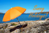 Swedish Coast With Sunny Holidays — Stock Photo