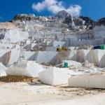 Carrara's marble quarry in Italy — Stock Photo #53717157