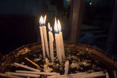Candles in Jerusalem — Stock Photo