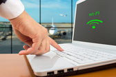 Wireless Airport — Stock Photo