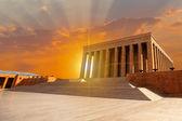 Mausoleum of Ataturk, Ankara Turkey — Stock Photo