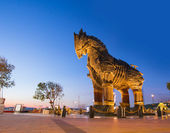 Trojan horse, Canakkale Turkey — Stock Photo