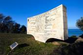 Memory of martyred Anzac soldiers Canakkale, Turkey — Stock Photo