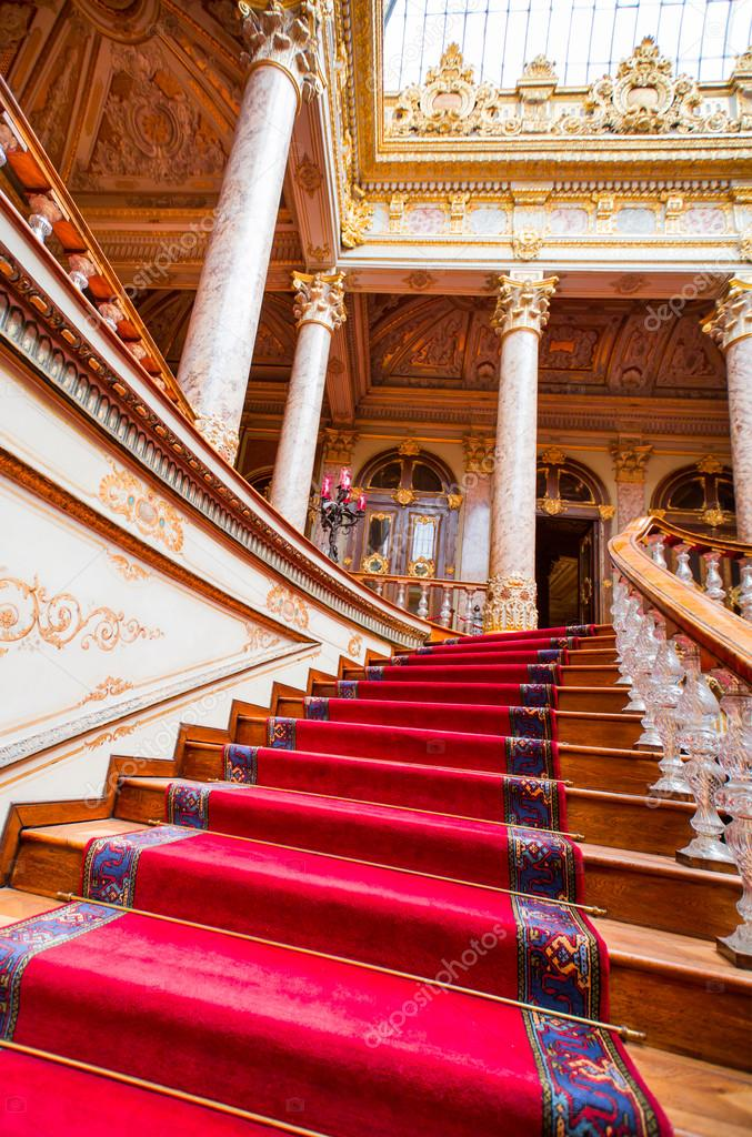 Dolmabahce Palace Interior Stock Editorial Photo