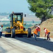 KAYSERI - AUGUST 15: workers repairs road under the program of planned on August 15 2014 in kayseri Turkey — Stock Photo #58881185