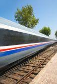 Vysokorychlostní vlak — Stock fotografie