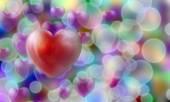 Heart shape Love symbol — Stock Photo