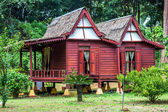 Malay House at The Garden of a Thousand Flowers — Stock Photo