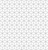 Gray and white cubes seamless pattern — Stock Vector