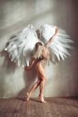 Angel woman — Stockfoto
