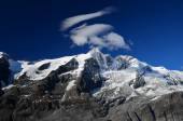 High glacier mountains — Stock fotografie