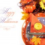 Happy Halloween Table Settings — Stock Photo #53849317
