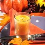 Happy Halloween Table Settings — Stock Photo #53849487