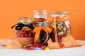 Halloween Trick or Treat Candy — Stock Photo
