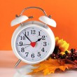 Daylight savings time clock — Stock Photo #54257371