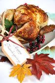 Festive Roast Turkey — Stock Photo