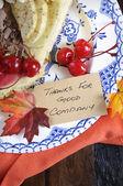 Thanksgiving paj — Stockfoto