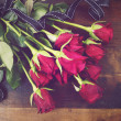 St Valentines Day red roses — Stock Photo #61898467