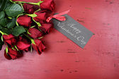 St Valentines Day red roses — Stock Photo