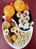 Chinese New Year party decorations — Stock Photo