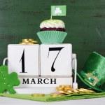 Happy St Patricks Day cupcakes — Stock Photo #64353917