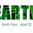 Earth Day, April 22, Concept Image — Stock Photo #69374335