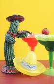 Happy Cinco de Mayo colorful party theme — Stock Photo